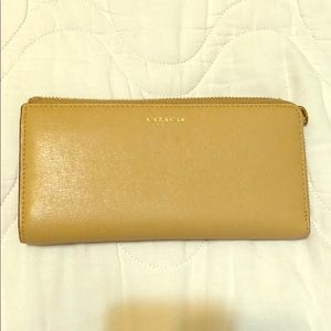 Coach zipper wallet